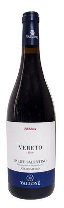VERETO SALICE SALENTINO DOP ROSSO RISERVA - Bottiglia lt.0,750
