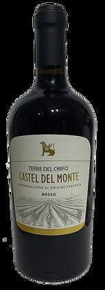 TERRE DEL CRIFO CASTEL DEL MONTE DOP ROSSO - Bottiglia lt. 0,750