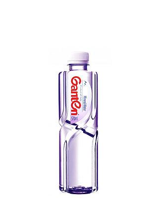 GANTEN ACQUA GASSATA  - lt. 0,570 -  24 bottiglie