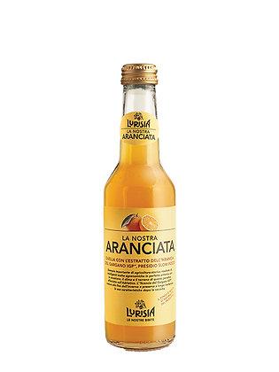 LURISIA ARANCIATA BOTTIGLIA VETRO  -  Lt 0,275  Confezione da 4 Bottiglie