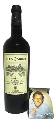 VILLA CARRISI PRIMITIVO SALENTO IGP ROSSO - Bottiglia lt. 0,750