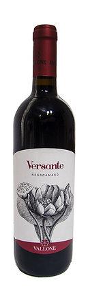 VERSANTE SALENTO ROSSO NEGROAMARO IGP -  Bottiglia lt. 0,750