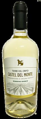 TERRE DEL CRIFO CASTEL DEL MONTE DOP BOMBINO BIANCO - Bottiglia lt. 0,750