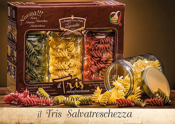 TRIS SALVAFRESCHEZZA