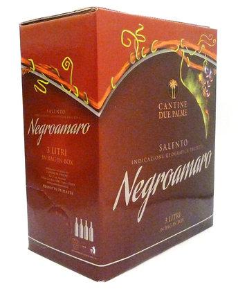 NEGROAMARO SALENTO  IGP - Bag in box lt. 3,00