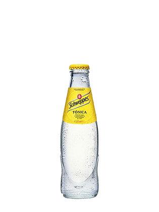 SCHWEPPES ACQUA TONICA BOTTIGLIA VETRO  -  4 bottiglie da lt 0,175