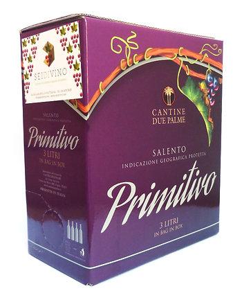 PRIMITIVO SALENTO  IGP - Bag in box lt. 3,00
