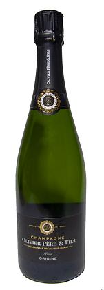CHAMPAGNE BRUT OLIVIER PÈRE & FILS - Bottiglia 0,75 lt