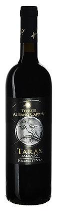 TARAS ROSSO SALENTO IGP PRIMITIVO BARRICATO ALBANO CARRISI - Bottiglia lt. 0,750