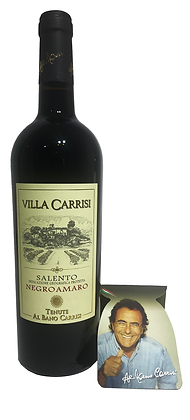 VILLA CARRISI NEGROAMARO SALENTO IGP ROSSO - Bottiglia lt. 0,750
