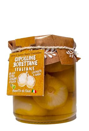 CIPOLLINE BORETTANE IN OLIO EXTRA VERGINE - Gr. 280