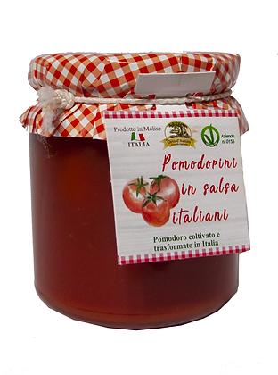 POMODORINI IN SALSA ITALIANA  - Gr. 295