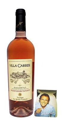 VILLA CARRISI NEGROAMARO SALENTO IGP ROSATO - Bottiglia lt. 0,750