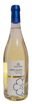 CORTE VALESIO BIANCO SAUVIGNON SALENTO IGP - Bottiglia lt.0,750