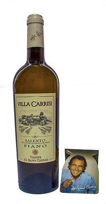 VILLA CARRISI FIANO SALENTO IGP BIANCO - Bottiglia lt. 0,750