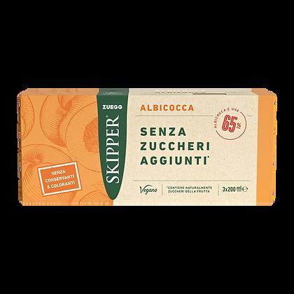 SKIPPER SUCCO ALBICOCCA  SENZA ZUCCHERI AGGIUNTI 3  BRIK - lt. 0,200