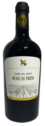 TERRE DEL CRIFO NERO DI TROIA IGP - Bottiglia lt. 0,750