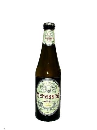 BIRRA MENABREA BIONDA BOTTIGLIA   - Lt 0,33