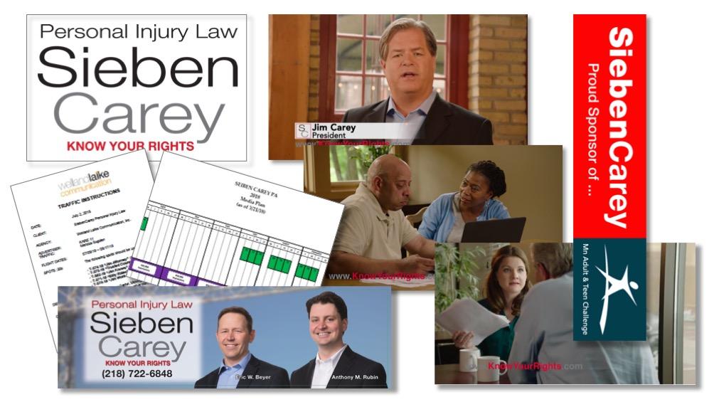 SiebenCarey Law Branding