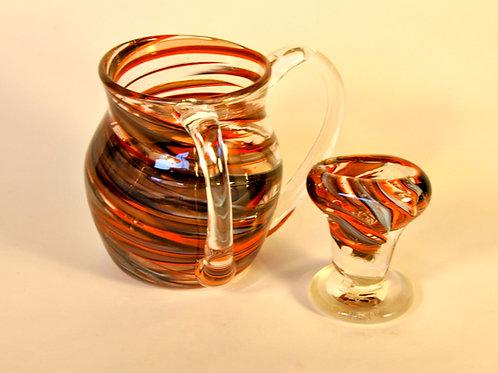 Tiger Stripes Havdallah Candle Holder
