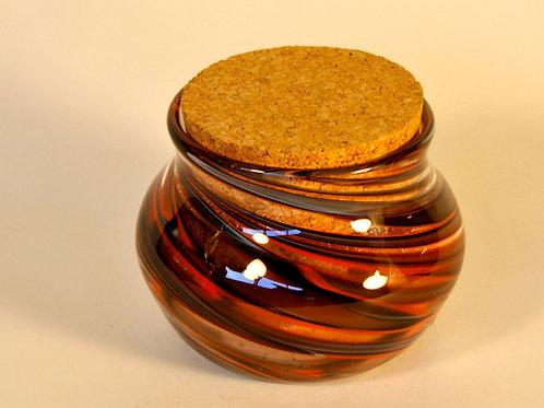 Tiger Stripes Jar