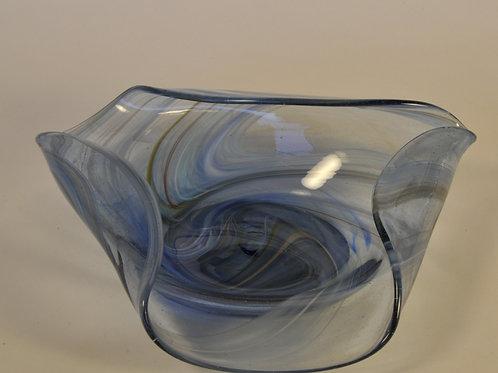 Blue Ocean Glassentaschen Dish: Small