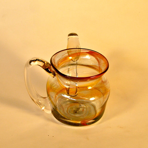 Delicate Buttercup Swirl Handwashing Cup