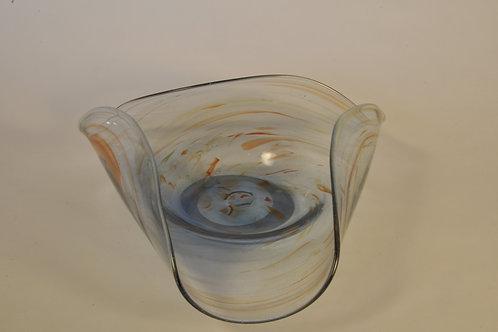 Glassentaschen Dish: Large With Bronze Flecks