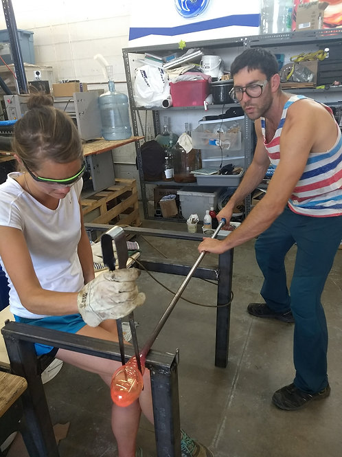 For Colorado Couples: Smash Glass + Remelt-Your-Shards Studio Experience