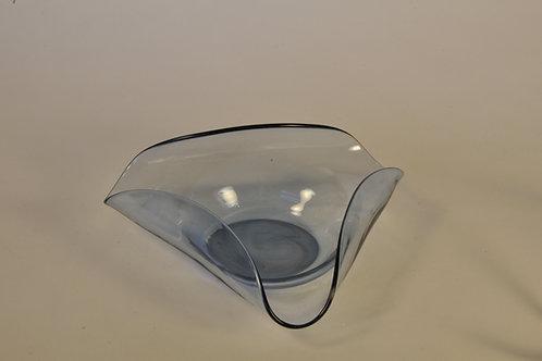 Sleek Blue Glassentasch: x-small