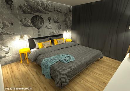 ložnice v oblacích