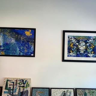 More blue _#hertsopenstudios #hertsopens