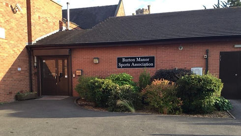 Burton Manor Sports Association main entrance.