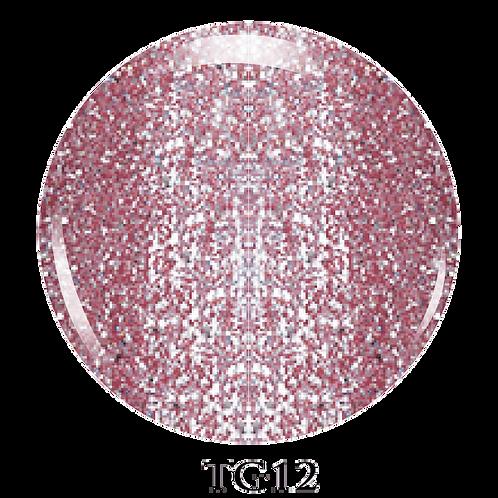 TG12 - Trinity Soak Off Glitter Gel (Pot) - 8ml/0.27oz