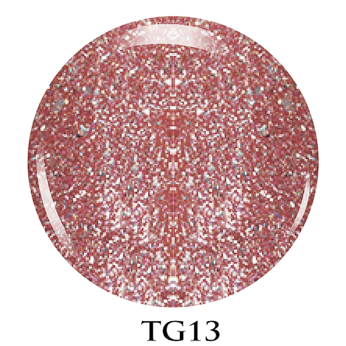 TG13 - Trinity Soak Off Glitter Gel (Pot)  - 8ml/0.27oz