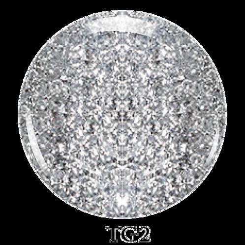 TG2- Trinity Soak Off Glitter Gel (Pot) - 8ml/0.27oz