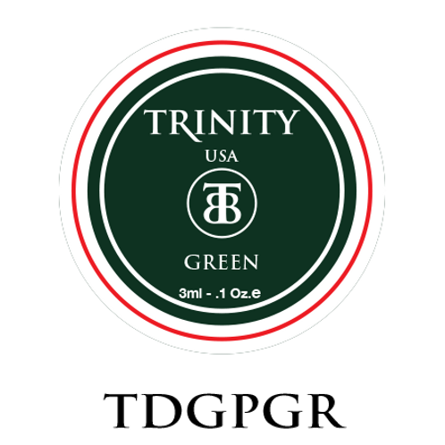 TSODGPGR - Trinity Soak Off Design Gel Paint (Green) 3ml/0.1oz