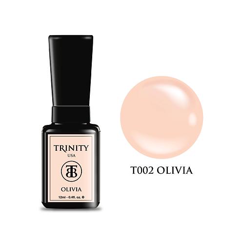T002 - Trinity Soak Off Gel Polish - Olivia - 12ml/0.4oz