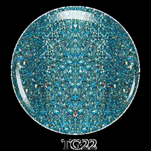 TG22 - Trinity Soak Off Glitter Gel (Pot) - 8ml/0.27oz