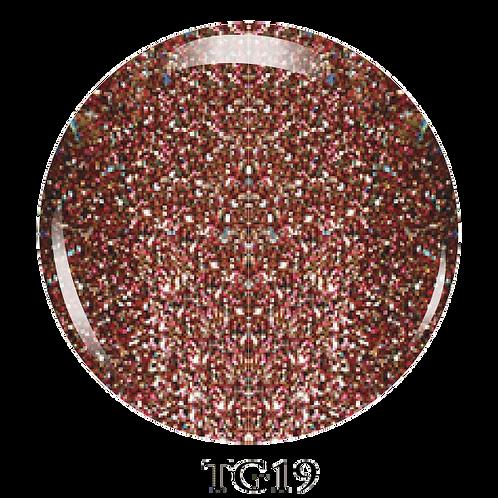 TG19 - Trinity Soak Off Glitter Gel (Pot)  - 8ml/0.27oz