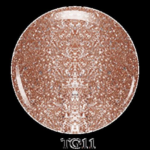 TG11 - Trinity Soak Off Glitter Gel (Pot)  - 8ml/0.27oz