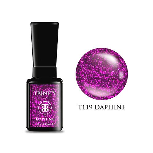 T119 - Trinity Soak Off Gel Polish - Daphine (Glitter) - 12ml/0.4oz