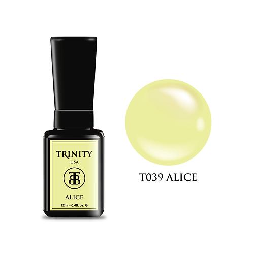 T039 - Trinity Soak Off Gel Polish - Alice - 12ml/0.4oz