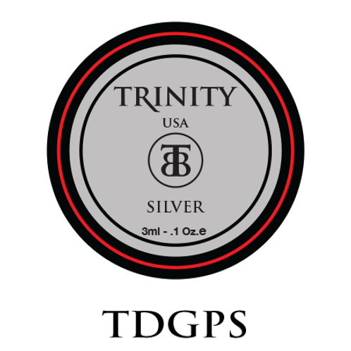 TSODGPS - Trinity Soak Off Design Gel Paint (Silver) 3ml/0.1oz