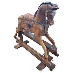 19th Century English Rocking Horse