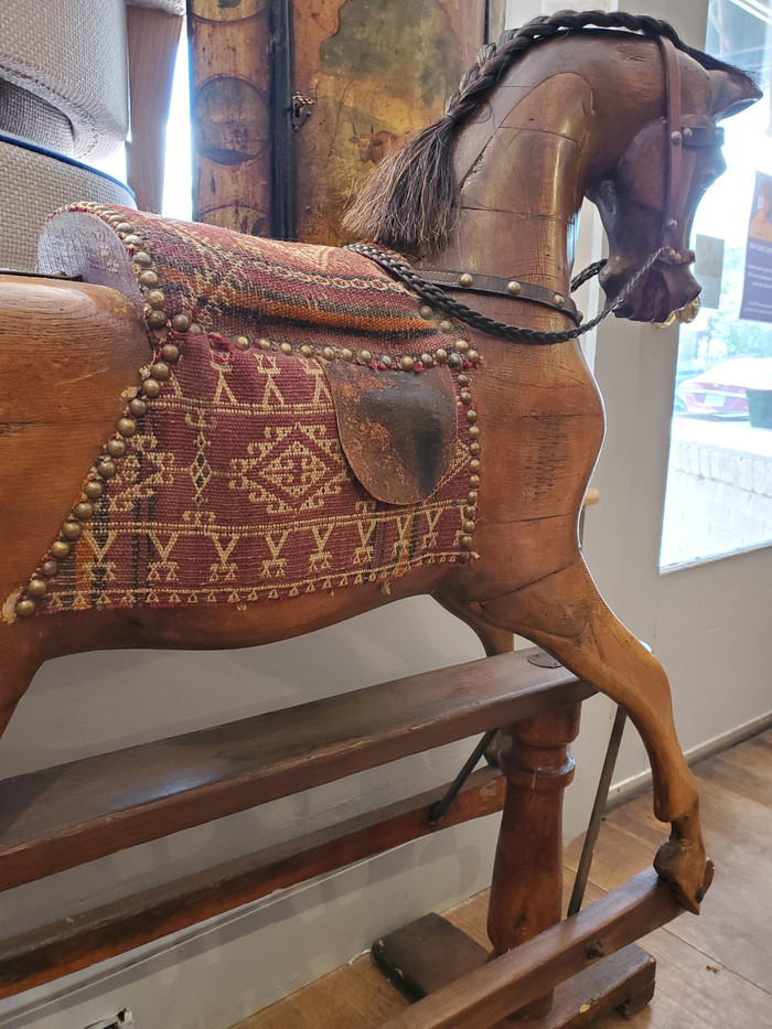19th Century English Rocking Horse