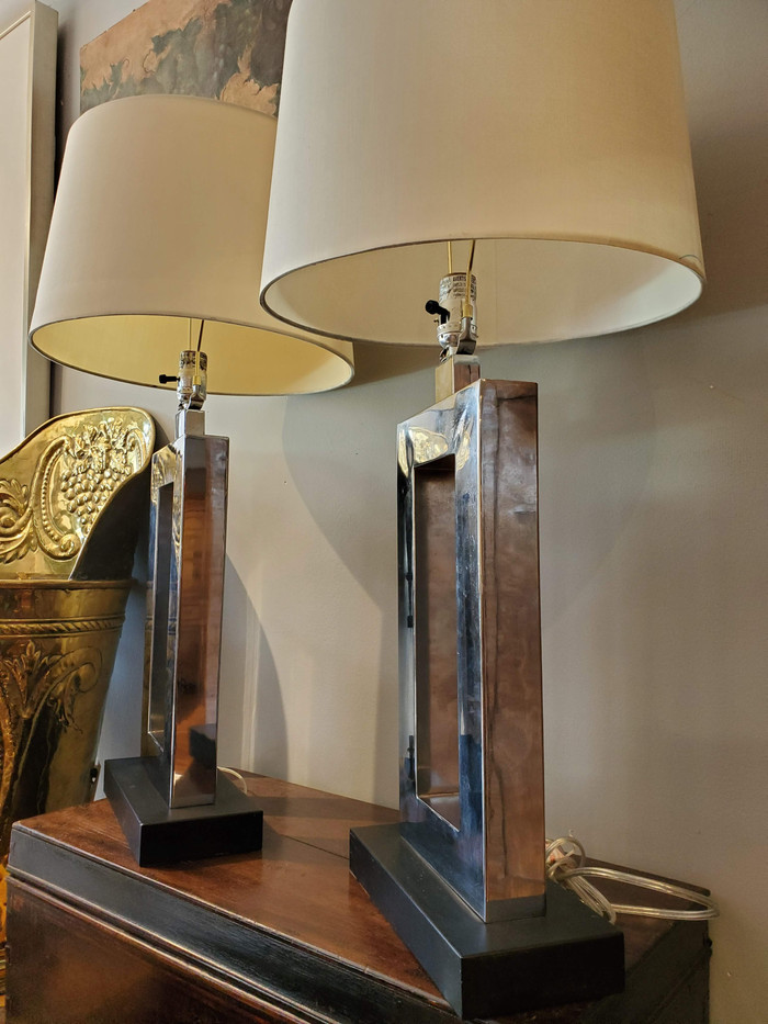 Pair of Mid-Century Modern Lamps