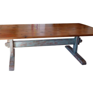 5493 - Scandinavian Trestle Table