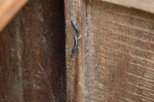 19th Century Indonesian Carved Teak Two Door Cabinet