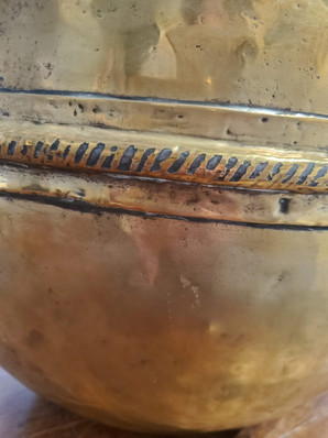 Early 19th Century French Provincial Brass Pitcher